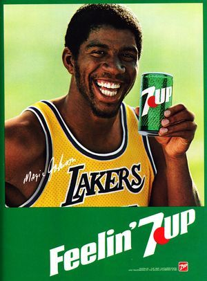 Magic Johnson & 7Up