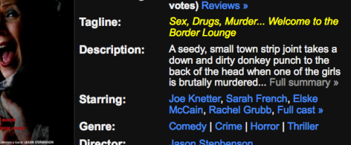 Best Movie Description Ever Written