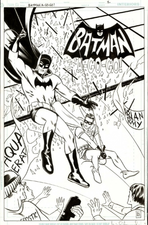 Batman & Robin by Michael Allred