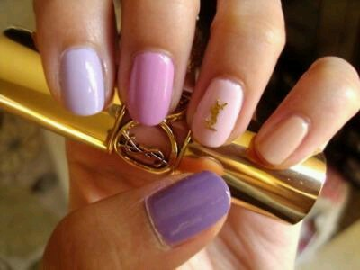 Ombre nails are cute and seem pretty easy to do as long as you have two colors! Check out this tutorial I found for tips! (via pinterest, beautylish)