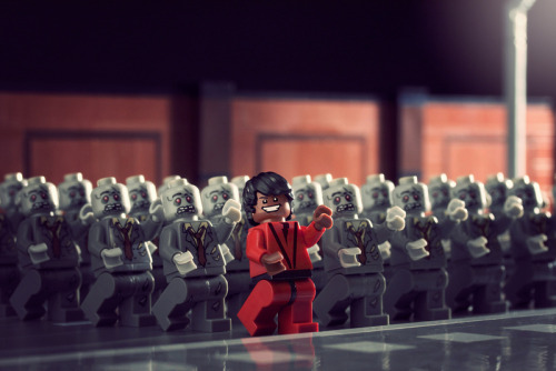 itlego:  This is Thriller - by powerpig Prints and skins available at society6.