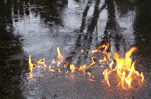 dynodannyyy:  Adele actually managed to set fire to the rain?                        Hey look. Potassium.