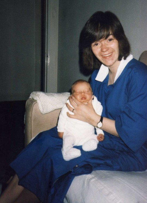 ^ That's me as a teeny wee sprog with my Mum. I share this because… It's My Birthday! :D I'm 25 Years Old Today - I've spent a total of 9,131 Days on this earth. It's glorious, it's seven in the am, I just slept for nine straight hours after having an enjoyably lazy but long day yesterday (reading ebooks and/or watching Castle), it's also raining *jumps around* and it's dull; perfect. Thank you, powers that be. So I'm gonna faff online a while then I'll pop out for a wee walk, in search of food, with the meagre pocket change I have at my disposal then I intend to return home, have some munchies, maybe watch a film or something, have a bath *shrugs* I have no plans but I intend to remain upbeat and think on all the good things about my life.