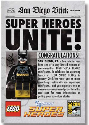 LEGO Gets Full DC Comics License (via From Bricks To Bothans) Lego Batman. Nuff said. But how do I get my hands on one of those incredibly cool minifigs?
