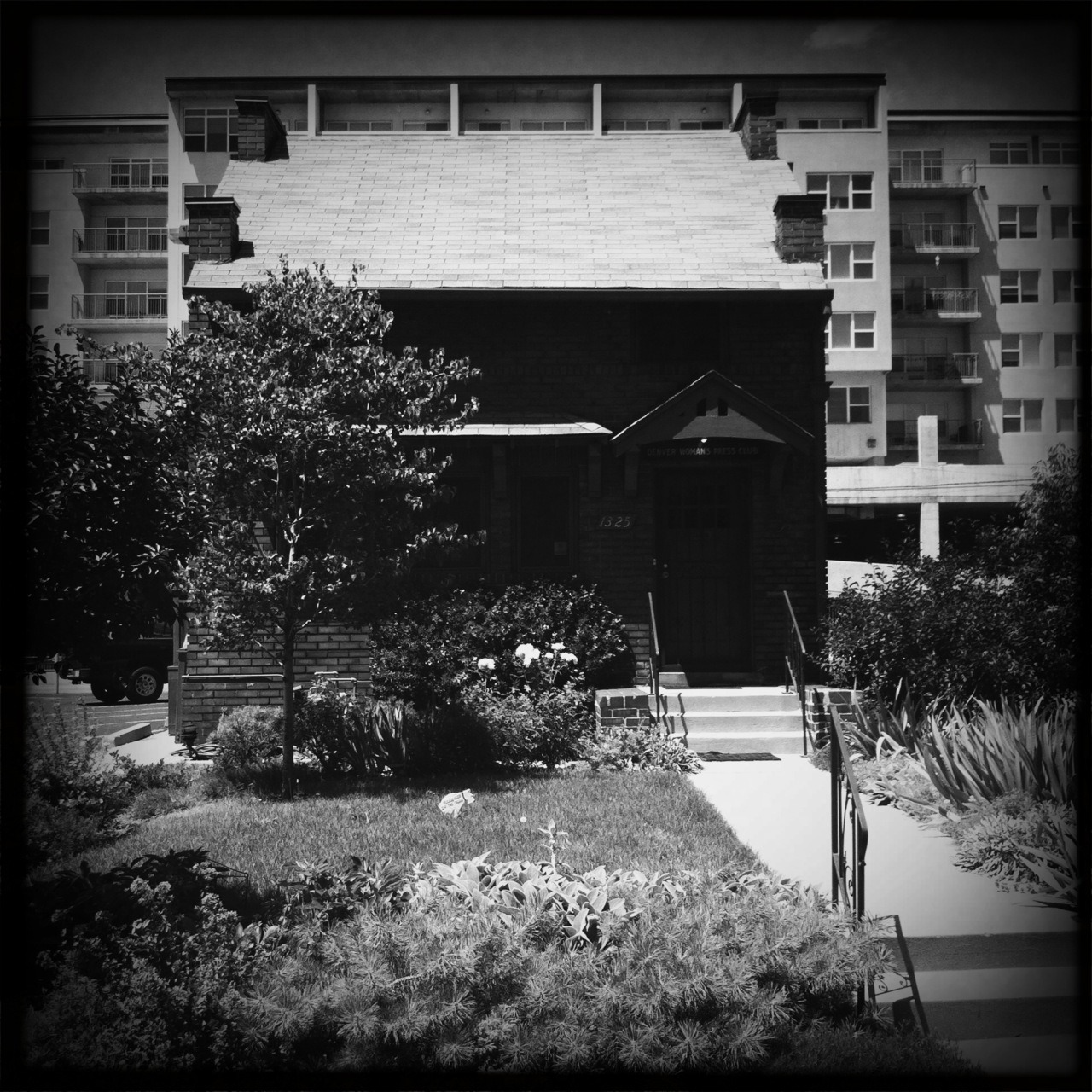 Colorado Women's Press Club Taken with Hipstamatic, Tejas Lens, BlacKeys SuperGrain Film, No Flash.