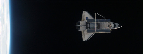 mappeal:  Shuttle leaves the ISS space station for the last time - Boing Boing