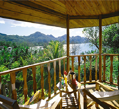 mosaicholidays:  The breath taking view from your balcony. Find out how to experience it yourself at the Seychelles