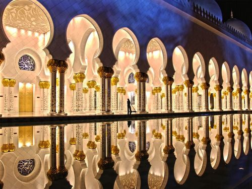 Zayed Mosque, Abu Dhabi Source: National Geographic