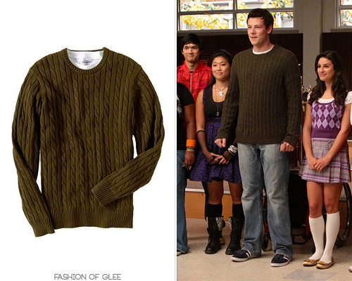 Old Navy Mole Cable-Knit Sweater - No longer available Also worn in: 1x07 'Throwdown'