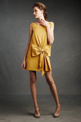 Oh em gee. I am in love with this Bowknot Pocket Shift dress. I need. But maybe not for $260.  via BHLDN.