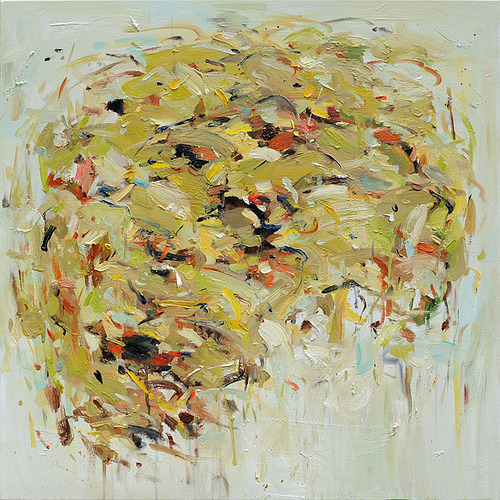 mounts:  Cornfield 36x36 OIL PAINTING (by siiso)