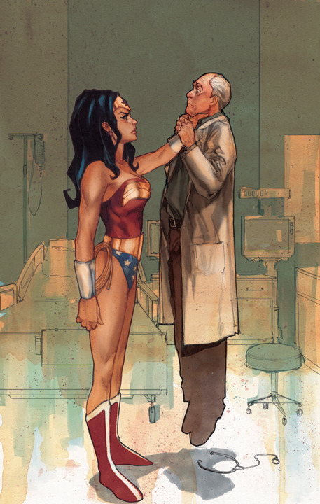 Wonder Woman #198 by Phil Noto