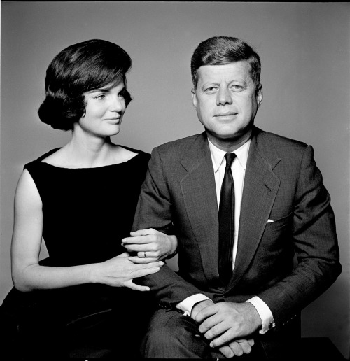 freecocaine:  John and Jackie Kennedy Photographed by by Richard Avedon.