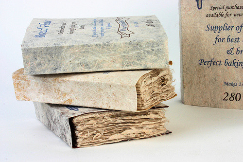 4 books with flour bag inspired dust covers 4 (by joannebk)