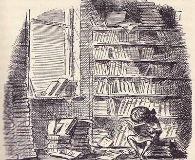 teachingliteracy:  Edward Ardizzone illustration taken from The Little Book RoombyEleanor Farjeon