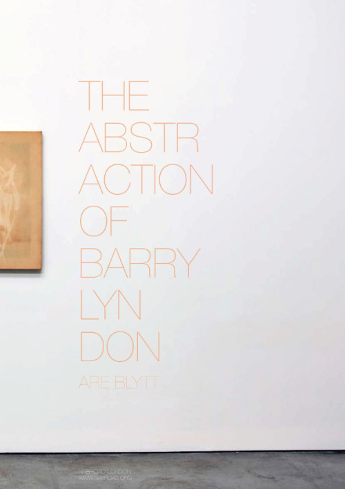 The Abstraction of Barry Lyndon | Are Blytt