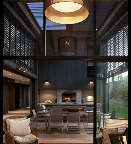 designismymuse:  Modern Home in New Zealand