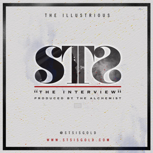 "To accompany the new single from STS is the artwork for ""The Interview"" Enjoy the cover design and of course the track. GOLD!!!"