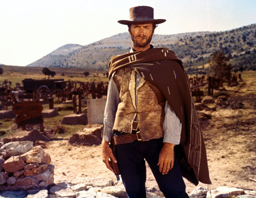 My 10 favorite Westerns  A multi-media list, off the top of my head:  Red Dead Redemption (video game) Lonesome Dove (book) The Good, The Bad, and the Ugly** (film) Deadwood (TV) Blood Meridian (book) Unforgiven (film) Dead Man (film) Firefly (TV - Space Western!) Red Headed Stranger (album) No Country For Old Men (film) (Inspired by Jim Coudal's list.)  ** Really, you could put the complete Man With No Name trilogy here, plus Once Upon A Time In The West. TGTBATU is just the one I always go back to.  What are your favorites?