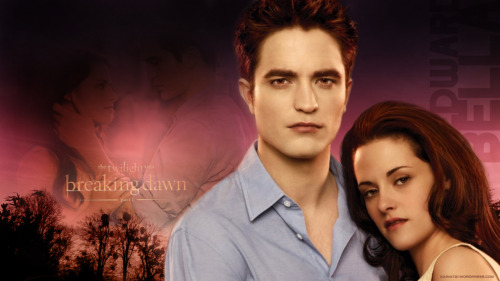 kainat21:  #Edward #Bella #Robsten Wallpaper- Breaking Dawn kainat21.wordpress.com