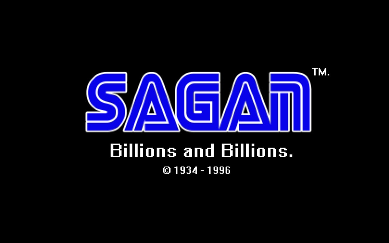 With a lot of Flagship titles as: Sagan: Travellers' Tales (RPG) Sagan: One voice in the cosmic fugue (music/dance) Sagan: heaven & Hell (FPS) Sagan: Journeys in Space and Time (strategy)