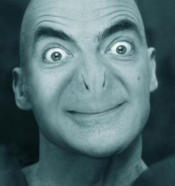 "theycametoconqueruranus:   ""If Mr Bean was Lord Voldemort, he would look like this.""  one of the best things i've ever seen on facebook"