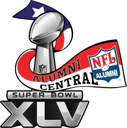 NFL Alumni Super Bowl Logo ConceptsIllustrator Created for the Alumni Central event held at Super Bowl XLV in Texas.