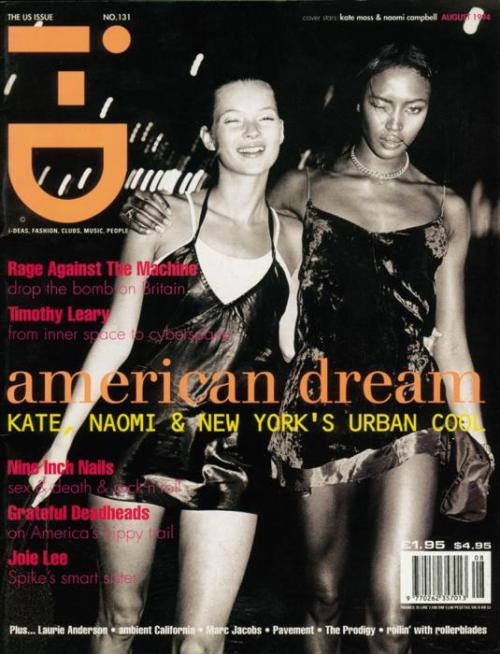 Kate Moss and Naomi Campbell for i-D: The US Issue / August 1994