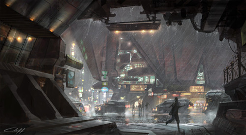 Concept Art by Sony Computer Entertainment Artist Cliff Childs.