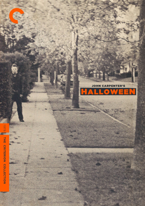 "Criterion Cover for John Carpenter's ""Halloween"""