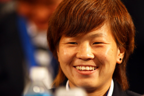 Aya Miyama (via Photo Gallery - Yahoo! Sports)