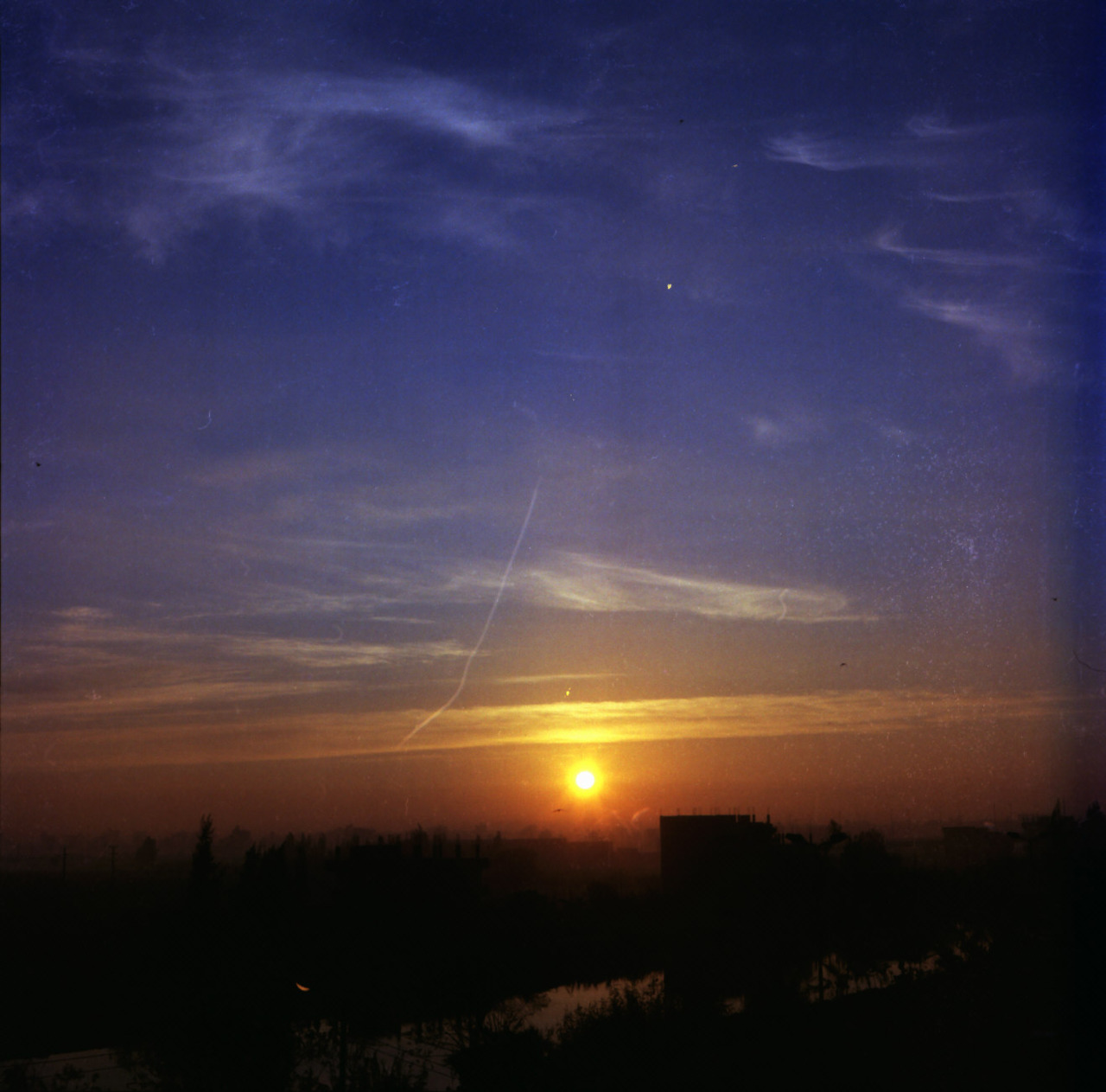 SUNRISE - TANTA - EGYPT flexaret automat - Lens Meopta Belar 3.5/80 - Portra 160 vc Wednesday July 20, 2011
