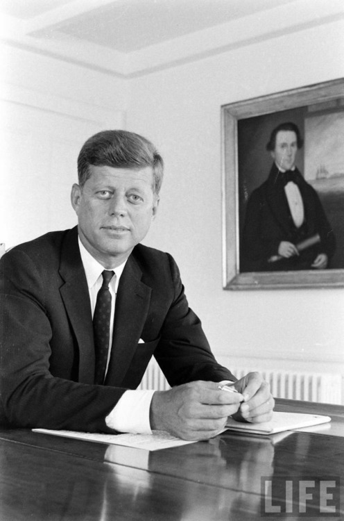 Senator John Kennedy Soon To Be President John Kennedy