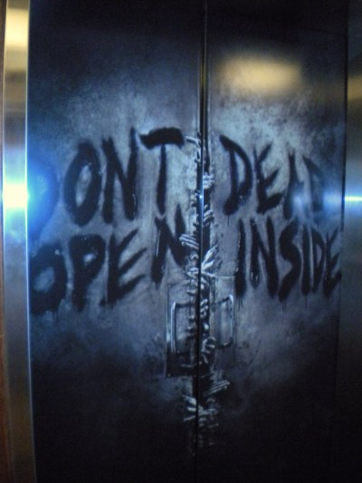 The elevator at my hotel.