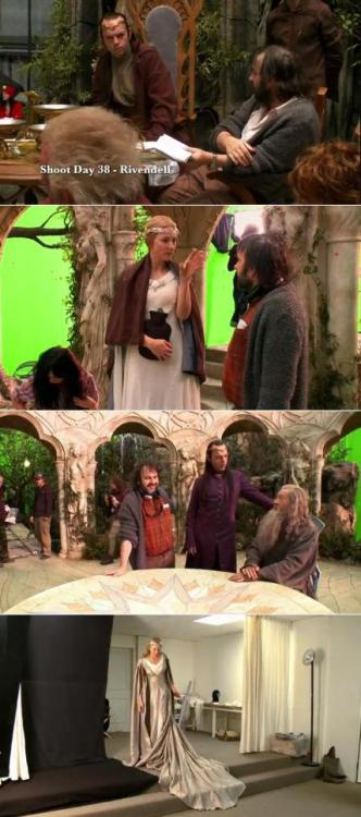 chamaeri:  Lotr vets on The Hobbit set.