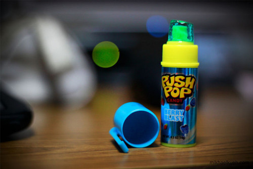 thingstosayjustbecause:  Push pop, candy .