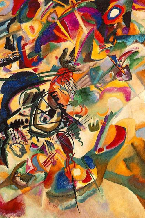 Composition VII by Kandinsky