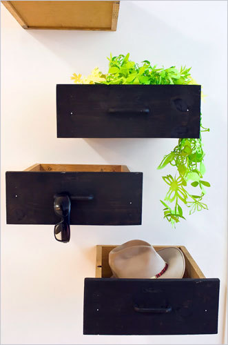 Drawers … on your walls … fantastic! Via: NY Times.