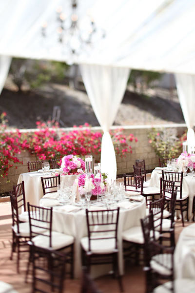 Elegant pink wedding!
