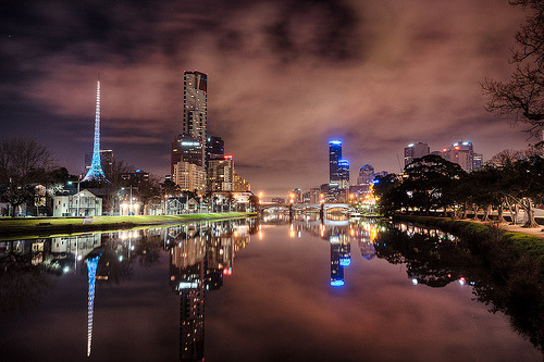 Taken on the banks of the Yarra River in Melbourne, Australia  (by F-StopNinja)
