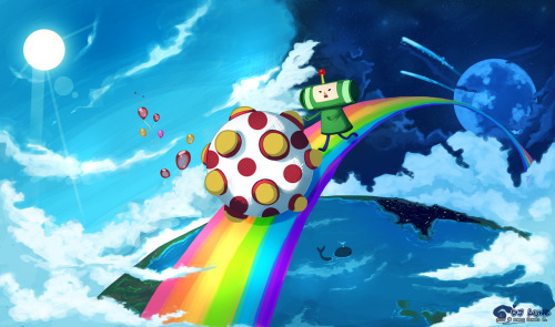 Katamari World // by Dj-Lune