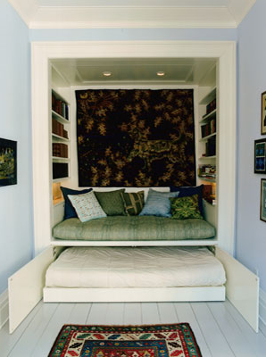 | ♕ |  reading nook  | by babble | via teachingliteracy