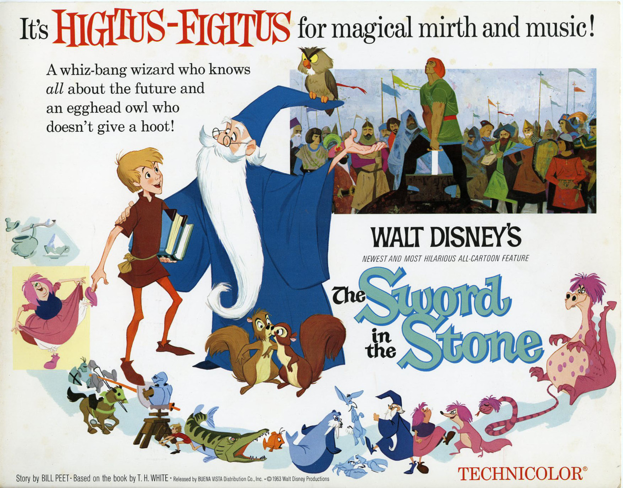 The Sword in the Stone, US lobby card. 1963