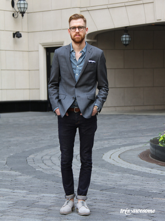 thetieguy:  simple great look. favorited!