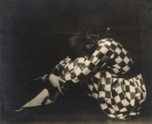 billyjane:  Madame Yevonde as Harlequin, 1925