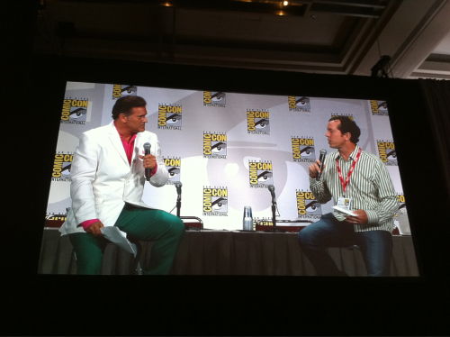 Burn Notice Comic-Con 2011 Panel with Bruce Campbell and creator Matt Nix.