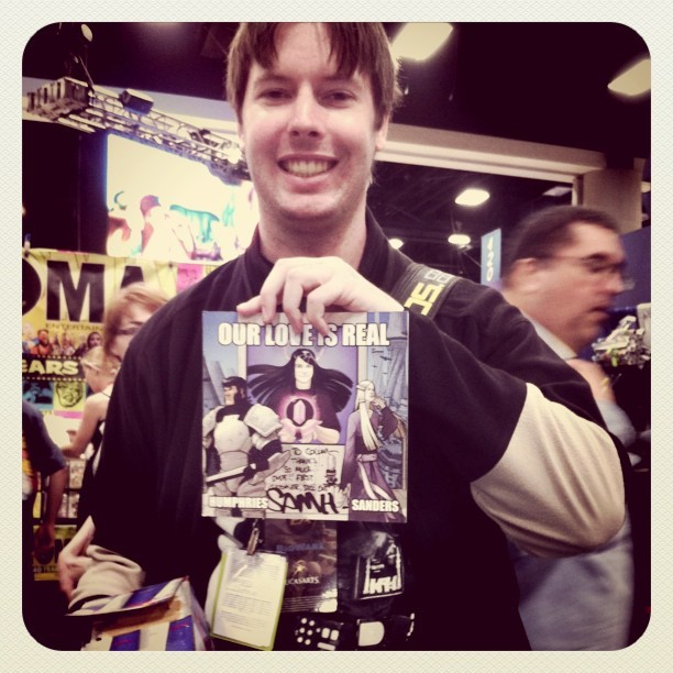FIRST CUSTOMER SDCC 2011 (Taken with instagram)