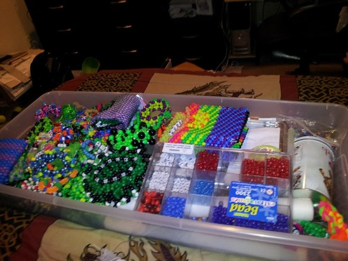 Only some of my kandi/supplies