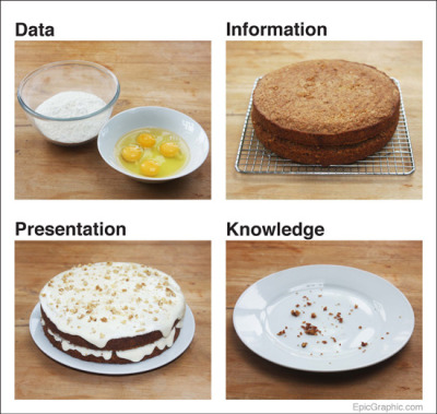 Data Cake via Epic Graphic