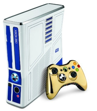 (via Microsoft reveals Droid-themed Xbox 360 bundle for Star Wars Kinect — Engadget) Oh, OK then internet, that is pretty great.